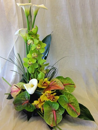 Contemporary Design Flower Arrangement